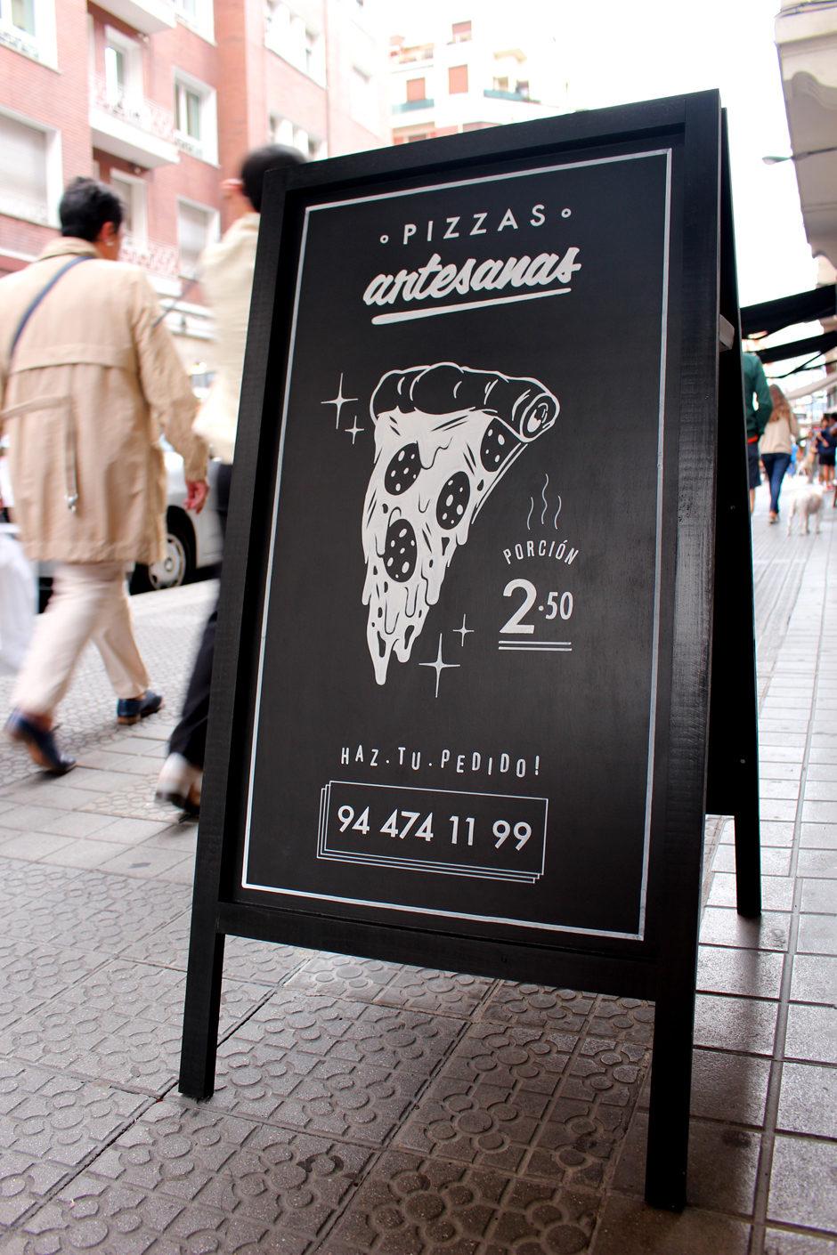 Pizarra Círcolo Pizza 03