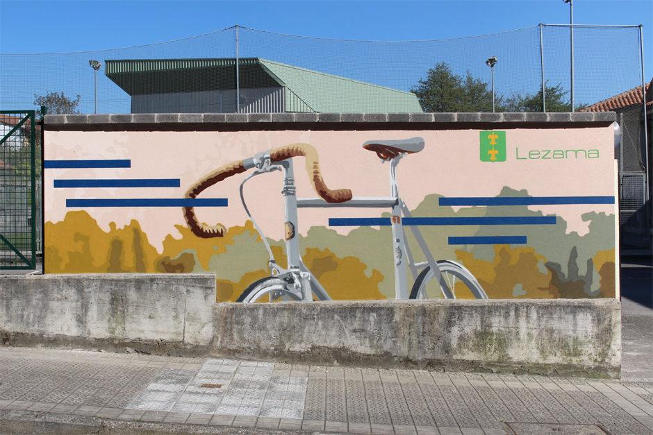 LEZAMA mural limpiabicis 02