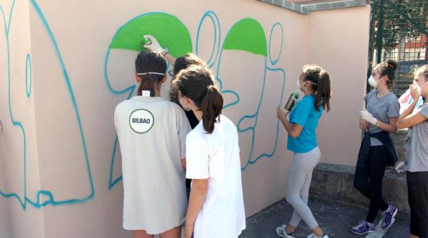 Taller graffiti lezama 01
